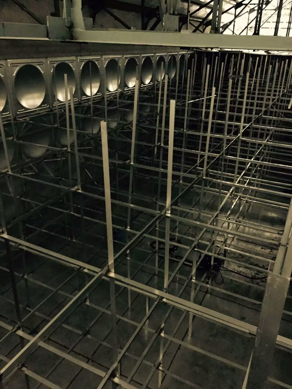 公司完成吉林省大安市环球体育比分水箱20吨1台